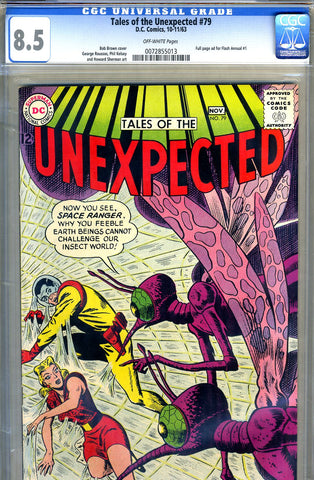 Tales of the Unexpected #79   CGC graded 8.5 - SOLD