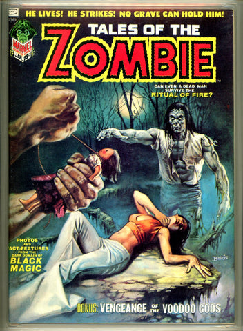 Tales of the Zombie #3 CGC graded 9.4 white pages  SOLD!