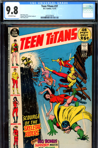 Teen Titans #37 CGC graded 9.8  HIGHEST GRADED