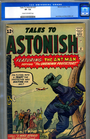Tales to Astonish #37   CGC graded 7.5 SOLD!