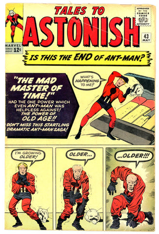 Tales to Astonish #43   G/VERY GOOD   1963