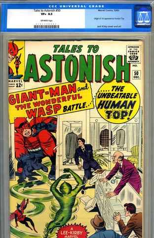 Tales to Astonish #50   CGC graded 8.5 - SOLD