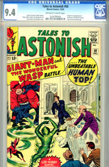 Tales to Astonish #50   CGC graded 9.4 first Human Top
