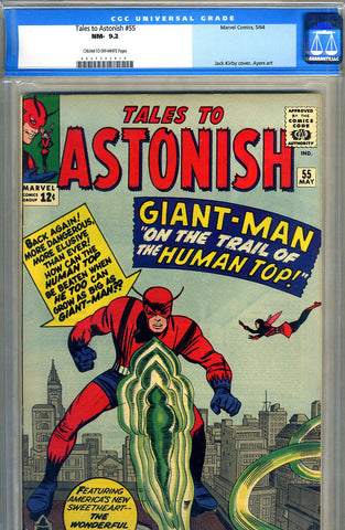 Tales to Astonish #55   CGC graded 9.2 - SOLD