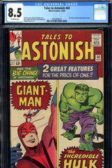 Tales to Astonish #60 CGC graded 8.5 double feature begins
