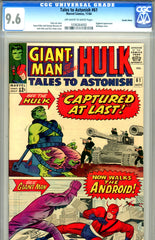 Tales to Astonish #61   CGC graded 9.6  Suscha News pedigree