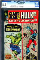 Tales to Astonish #67 CGC graded 8.5  split cover