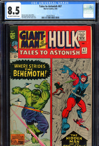 Tales to Astonish #67 CGC graded 8.5 SOLD!