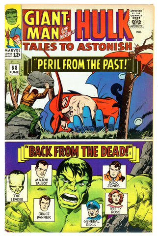 Tales to Astonish #68   VERY FINE   1965