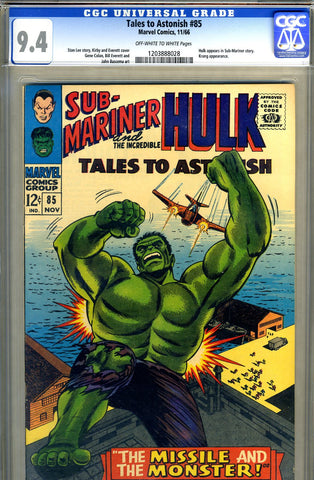 Tales to Astonish #85  CGC graded 9.4 SOLD!