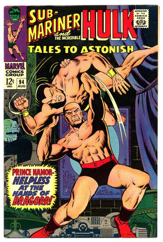 Tales to Astonish #94   VERY FINE+   1967