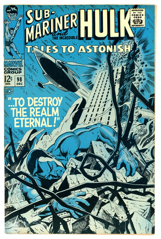 Tales to Astonish #98   VF/NEAR MINT   1967