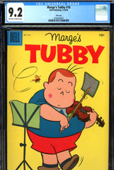 Marge's Tubby #18 CGC graded 9.2 - one of top five graded