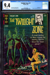 Twilight Zone #17 CGC graded 9.4 white pages