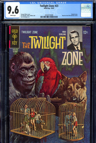 Twilight Zone #23 CGC graded 9.6 SINGLE HIGHEST GRADED SOLD!