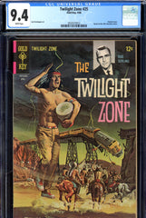Twilight Zone #25 CGC graded 9.4 white pages