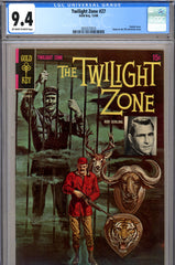 Twilight Zone #27 CGC graded 9.4 Frazetta inks
