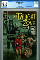 Twilight Zone #27 CGC graded 9.6 HIGHEST GRADED