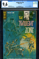 Twilight Zone #28 CGC graded 9.6  white pages