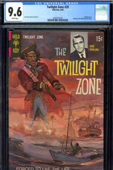 Twilight Zone #29 CGC graded 9.6  white pages