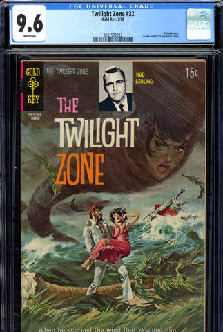 Twilight Zone #32 CGC graded 9.6  SINGLE HIGHEST GRADED SOLD!