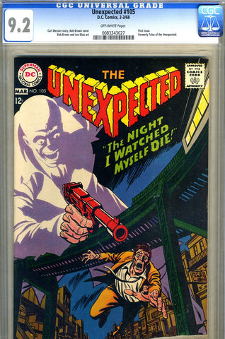 Unexpected #105   CGC graded 9.2 - SOLD