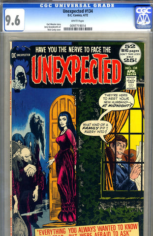 Unexpected #134   CGC graded 9.6 - HIGHEST GRADED - SOLD!