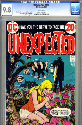 Unexpected #145   CGC graded 9.8 - SOLD