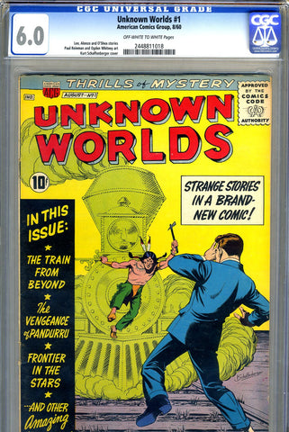 Unknown Worlds #01   CGC graded 6.0 - SOLD!