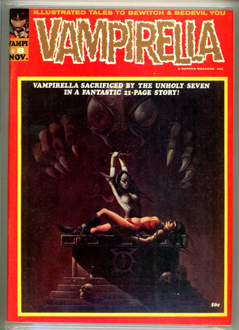 Vampirella #008 CGC graded 9.0 KEY ISSUE SOLD!