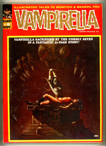Vampirella #008 CGC graded 9.6 KEY ISSUE
