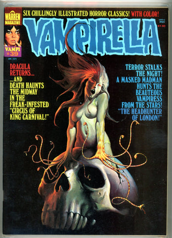 Vampirella #039 CGC graded 9.4 - white pages  SOLD!