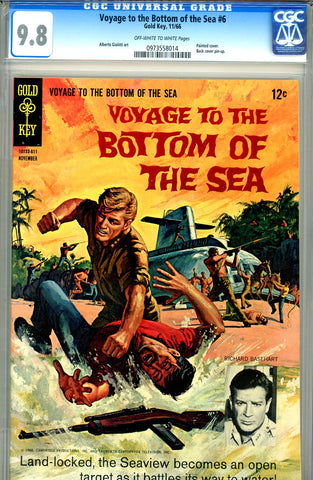 Voyage to the Bottom of  the Sea #06   CGC graded 9.8 - HG - SOLD!