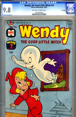 Wendy, the Good Little Witch #14   CGC graded 9.6 - HIGHEST GRADED - SOLD!