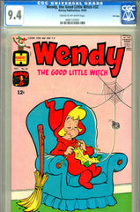 Wendy, the Good Little Witch #32   CGC graded 9.4