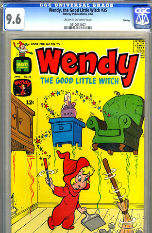 Wendy, the Good Little Witch #35   CGC graded 9.6 - SOLD!