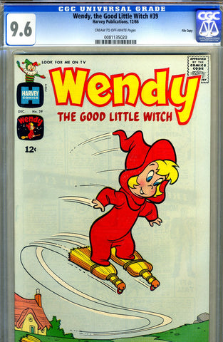 Wendy, the Good Little Witch #39   CGC graded 9.6 - SOLD!