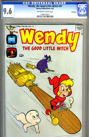 Wendy, the Good Little Witch #41   CGC graded 9.6 SOLD!