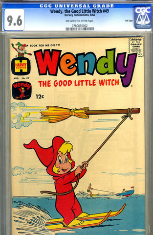 Wendy, the Good Little Witch #49   CGC graded 9.6 SOLD!