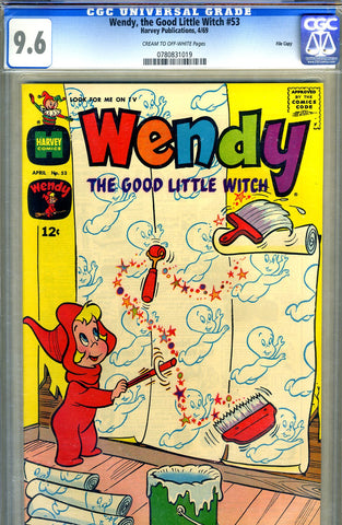 Wendy, the Good Little Witch #53   CGC graded 9.6  - SOLD!