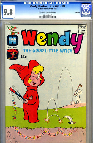 Wendy, the Good Little Witch #69   CGC graded 9.8 - HIGHEST GRADED - SOLD!