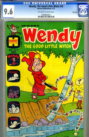 Wendy, the Good Little Witch #78   CGC graded 9.6 SOLD!