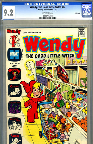 Wendy, the Good Little Witch #82   CGC graded 9.2 SOLD!