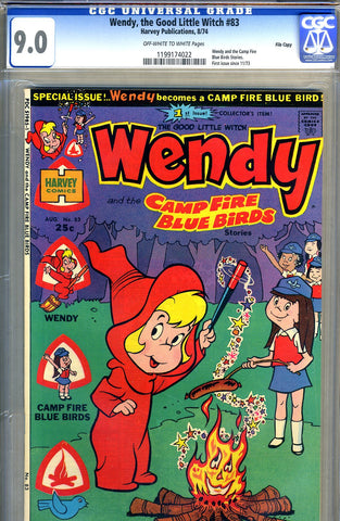 Wendy, the Good Little Witch #83   CGC graded 9.0 - SOLD!