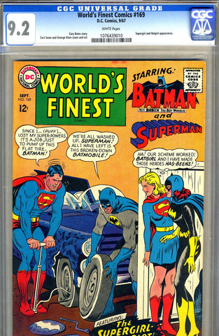 World's Finest #169   CGC graded 9.2 - SOLD!