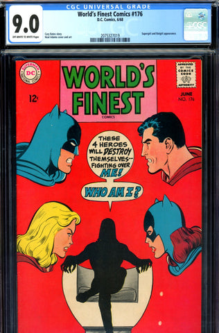 World's Finest #176 CGC graded 9.0 - Neal Adams cover - SOLD!