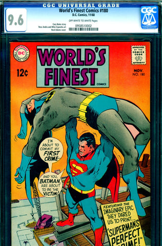 World's Finest #180 CGC graded 9.6 - Neal Adams cover - SOLD!
