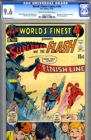 World's Finest #199   CGC graded 9.6 - SOLD!