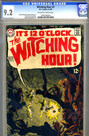 Witching Hour #03   CGC graded 9.2 SOLD!