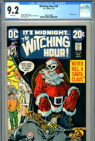 Witching Hour #28 CGC graded 9.2  Christmas cover - SOLD!